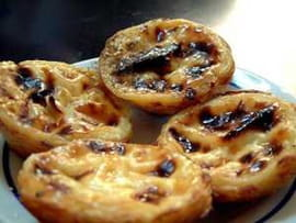 Past�is de nata (petits flans portugais)
