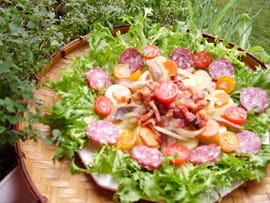 Salade lyonnaise
