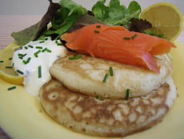 Blinis maison
