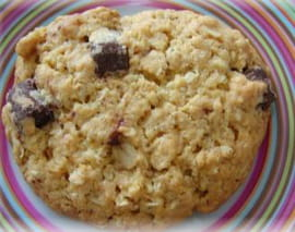 Cookies aux flocons d avoine