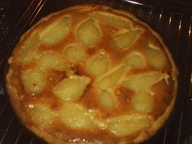 Tarte aux poires
