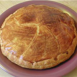 Galette des rois  la crme d amande