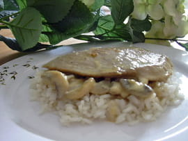 Escalopes de veau � la normande