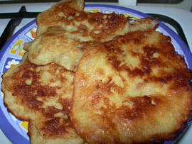 Crpes de bananes