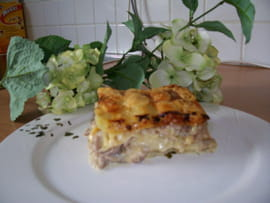 Lasagnes au lapin
