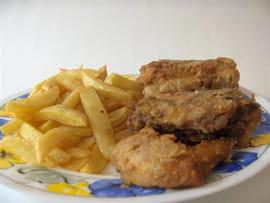 poulet frit l 39 am ricaine la recette facile. Black Bedroom Furniture Sets. Home Design Ideas