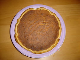 Tarte  la noix de coco