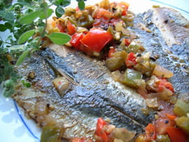 Filets de sardines en escab�che