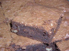 Brownies aux noix de p�can