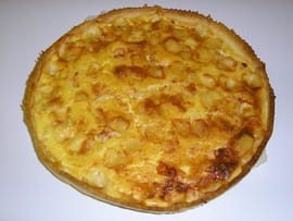 Quiche au saumon