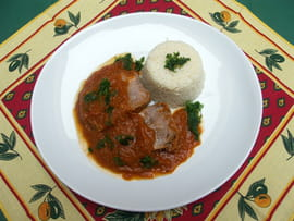 Langue de veau mijot�e � ma fa�on