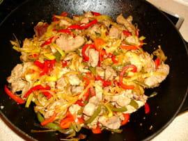 wok Filet-mignon-a-la-sichuanaise