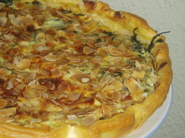 Tarte aux feuilles de blettes la recette facile - Comment cuisiner des feuilles de blettes ...