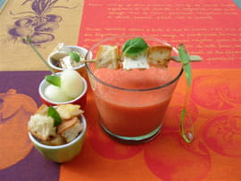 Gaspacho de tomates et compagnie