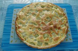Tarte au concombre