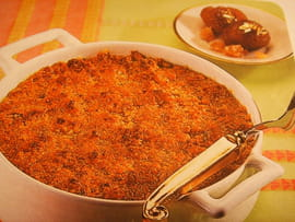 Crumble aux marrons glacs
