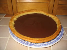 Flan au chocolat