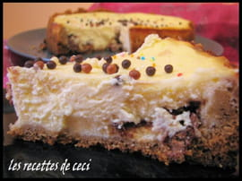 Cheesecake truff� de Toblerone