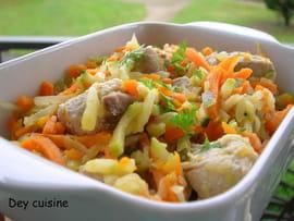 wok Saute-de-porc-aux-petits-legumes