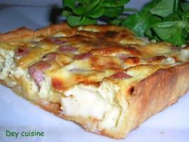 Quiche jambon et vache qui rit la recette facile for Cuisine de quiches originales et gourmandes