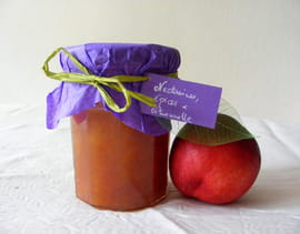 Confiture de nectarines, �pices et citronnelle