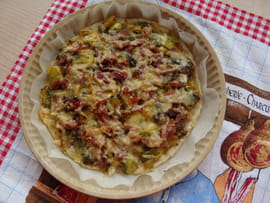 Gratin de poireau