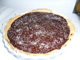 Tarte fa�on Bounty (chocolat-coco)
