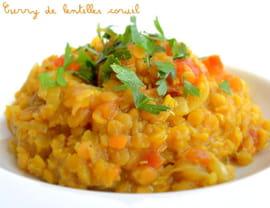 Curry de lentilles corail dahl la recette facile - Legumes faciles a cuisiner ...