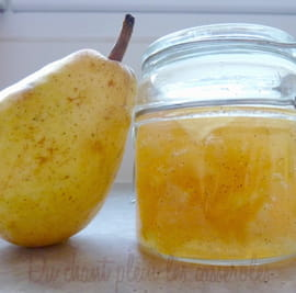 Confiture de poires Williams � la vanille