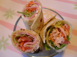 Wraps enti�rement maison
