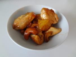 wok Poulet-noix-de-cajou-et-ananas