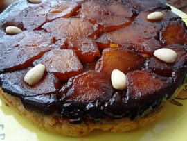 Tarte tatin aux fruits secs