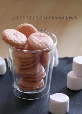 Macarons aux chamallows