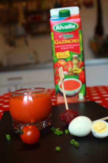 Mon Gazpacho Alvalle sur le pouce