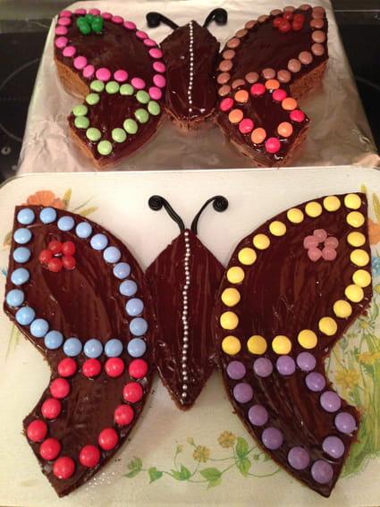 Recette de g teaux papillons la recette facile - Decoration gateau papillon ...