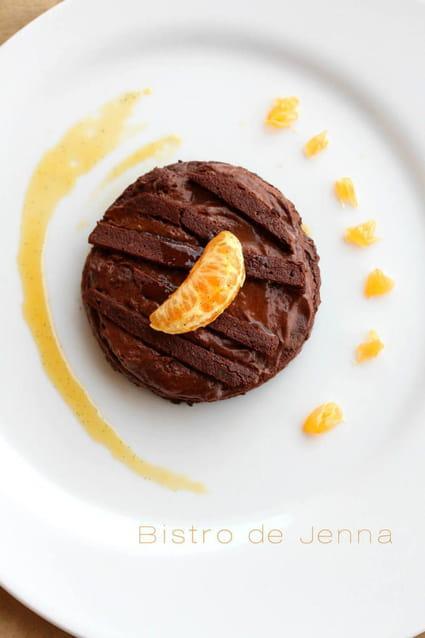 recette de mousseux au chocolat et son coulis de cl mentines la recette. Black Bedroom Furniture Sets. Home Design Ideas