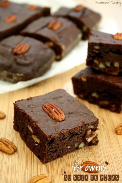 recette de brownie au chocolat et noix de p can la recette facile. Black Bedroom Furniture Sets. Home Design Ideas