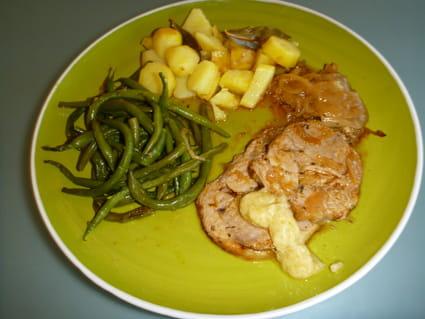 Recette epaule d 39 agneau roul e confite aux oignons et herbes de provence la recette facile - Cuisiner epaule d agneau ...