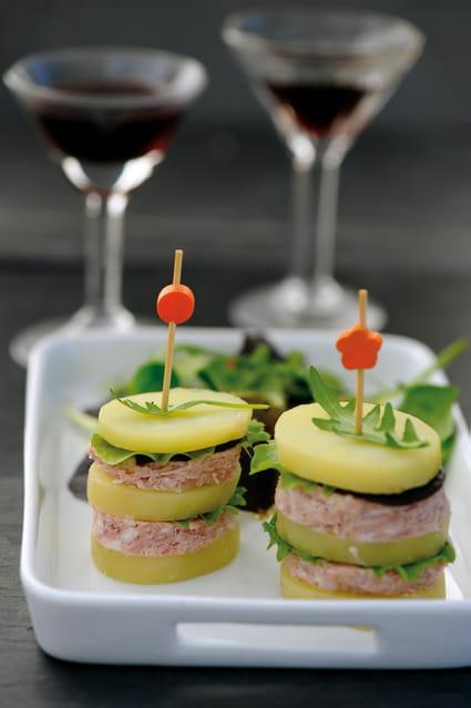 recette de burger de pommes de terre princesse amandine au p t h naff la recette facile. Black Bedroom Furniture Sets. Home Design Ideas