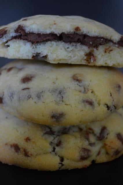 Cookies fourr s au nutella la recette facile - Recette de cookies au nutella ...