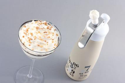 Crème chantilly au siphon
