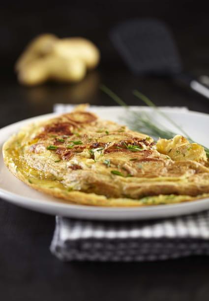 Recette omelette de pommes de terre ratte du touquet la recette facile - Cuisiner la ratte du touquet ...