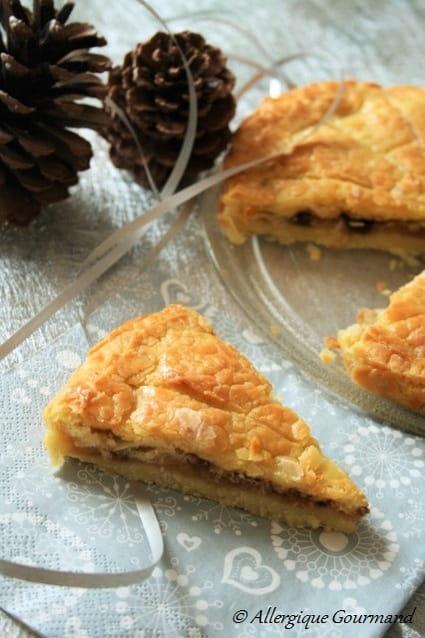 Recette de galette des rois bio sans oeufs sans gluten sans fruits coque la recette - Galette sarrasin sans oeuf ...
