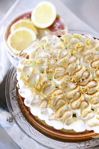 recette de tarte au citron meringu 233 e et p 226 te au sucre glace la recette facile
