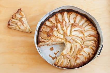 Gâteau aux pommes trop facile
