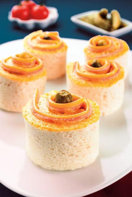 Recette de mini sandwichs l 39 am ricaine la recette facile for Jardin a l americaine