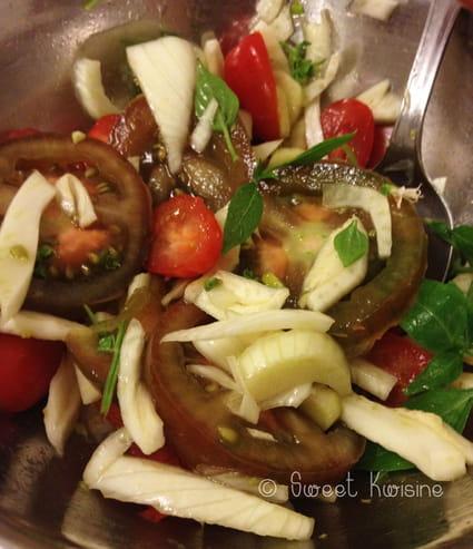 Salade fra che de fenouil et tomates vari es la recette for Entree fraiche ete