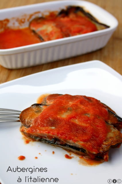 Recette aubergines l 39 italienne la recette facile - Aubergine grillee a l italienne ...