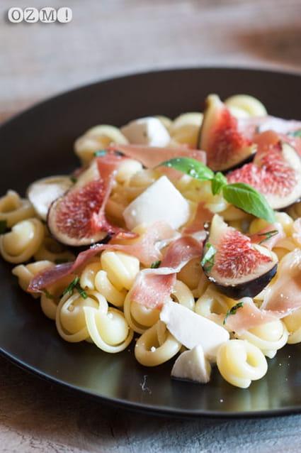 recette de p 226 tes aux figues jambon cru et mozzarella la recette facile