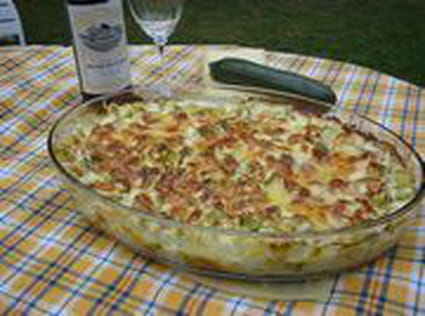 Gratin de courgettes authentique